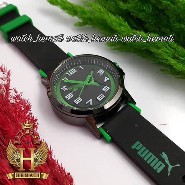 خرید اینترنتی ساعت اسپرت پوما PUMA PM100 مشکی_سبز