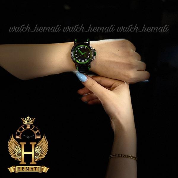 خرید انلاین ساعت اسپرت پوما PUMA PM100 مشکی_سبز