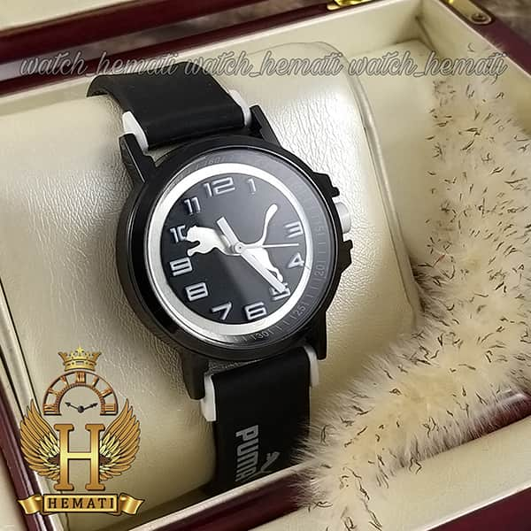 خرید ، قیمت ، مشخصات ساعت اسپرت پوما PUMA PM103 مشکی_سفید