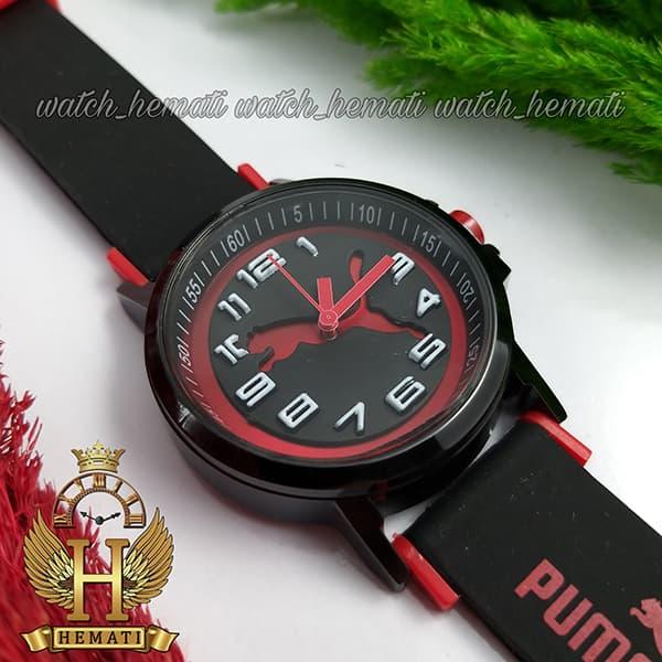 خرید اینترنتی ساعت مردانه پوما PUMA PM109 مشکی_قرمز ، قطر 48 میلیمتر