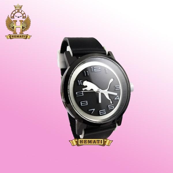ساعت مردانه پوما PUMA PM108 مشکی_سفید ،قطر 48 میلیمتر