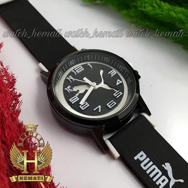 خرید انلاین ساعت مردانه پوما PUMA PM108 مشکی_سفید ،قطر 48 میلیمتر