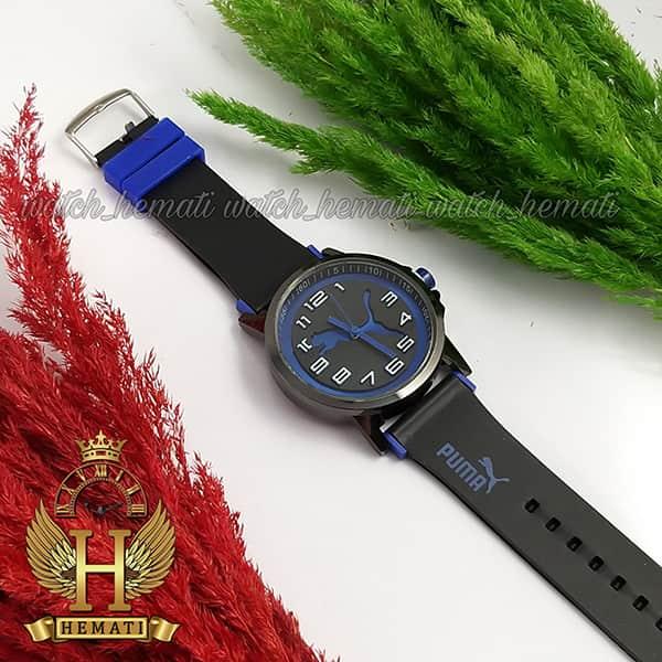 خرید اینترنتی ساعت مردانه پوما PUMA PM106 مشکی_آبی ، قطر 48 میلیمتر