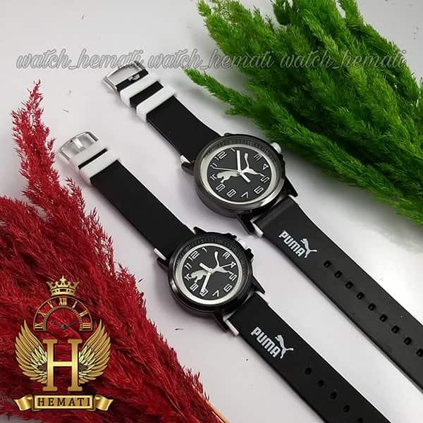 خرید ، قیمت ، مشخصات ساعت ست زنانه و مردانه پوما PUMA PM112 مشکی_سفید