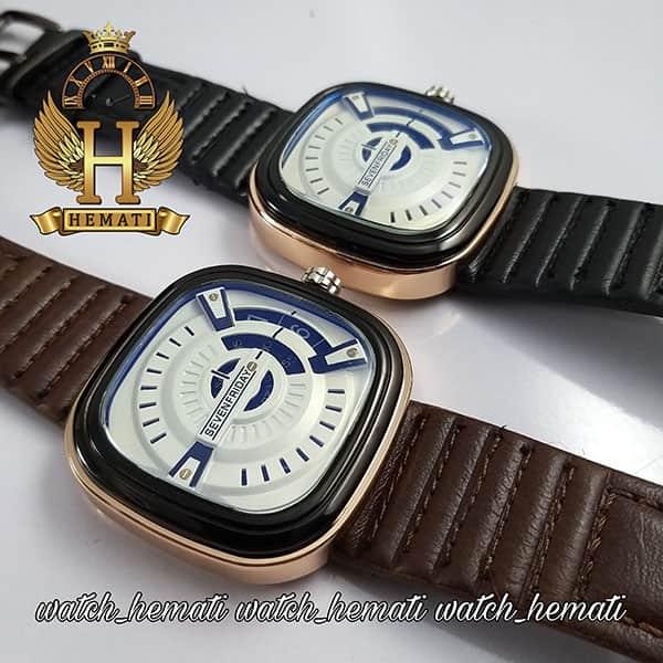ساعت مردانه سون فرایدی های کپی ارزان قیمت SF-P2/01-A0127 قاب مشکی-رزگلد
