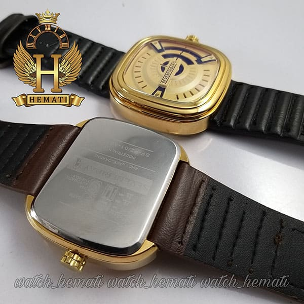 قیمت ساعت مردانه سون فرایدی SF-P2/01-A0127 قاب طلایی در رنگبندی بند چرم