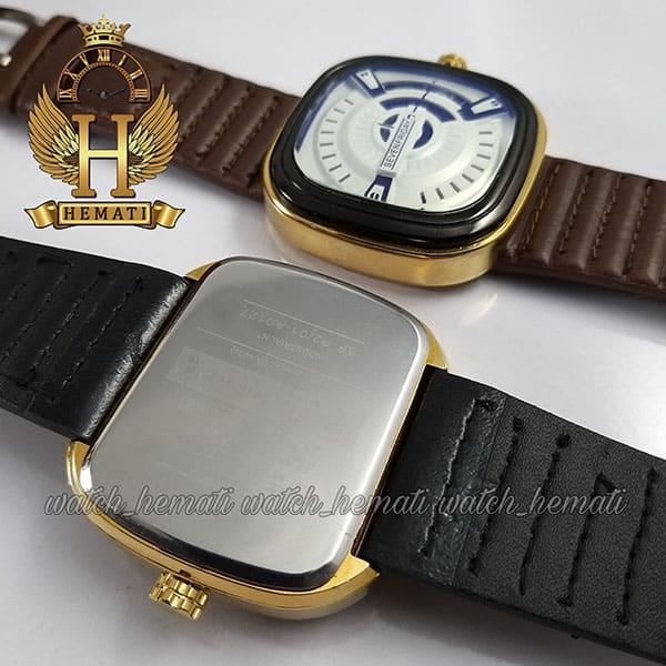 قیمت ساعت مردانه سون فرایدی SF-P2/01-A0127 قاب مشکی-طلایی در رنگبندی بند چرم