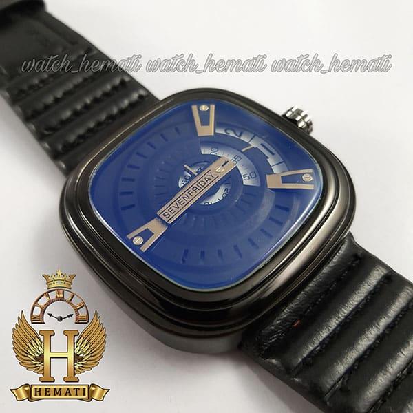 خرید انلاین ساعت مردانه سون فرایدی SF-P2/01-A0127 قاب و بند مشکی و صفحه آبی