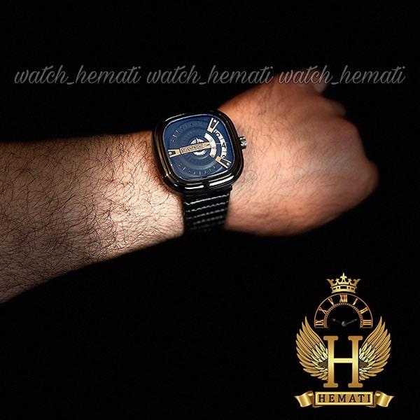 خرید ساعت مچی مردانه سون فرایدی SF-P2/01-A0127 قاب و بند مشکی و صفحه آبی