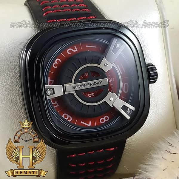 ساعت سون فرایدی مردانه های کپی ارزان قیمت مدل SA-D2/01-M1409 مشکی-قرمز موتور ژاپن کیفیت عالی