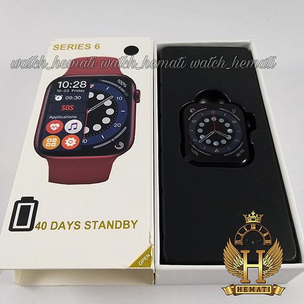 خرید اینترنتی ساعت هوشمند یا اسمارت واچ مدل H6 کپی سری 6 اپل واچ