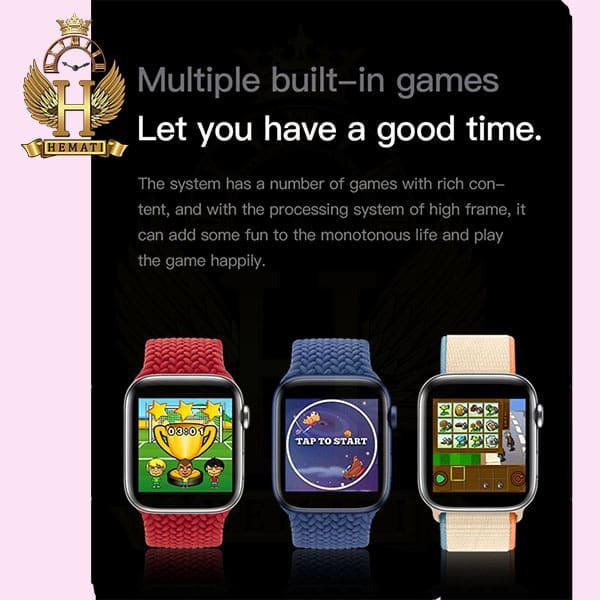 خرید اسمارت واچ مدل smart watch H600 کپی سری 6 اپل واچ رنگ مشکی