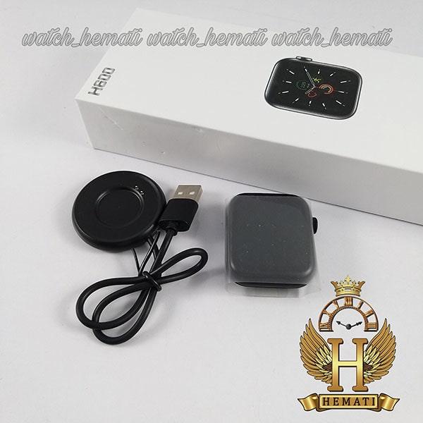 خرید انلاین اسمارت واچ مدل smart watch H600 کپی سری 6 اپل واچ رنگ مشکی