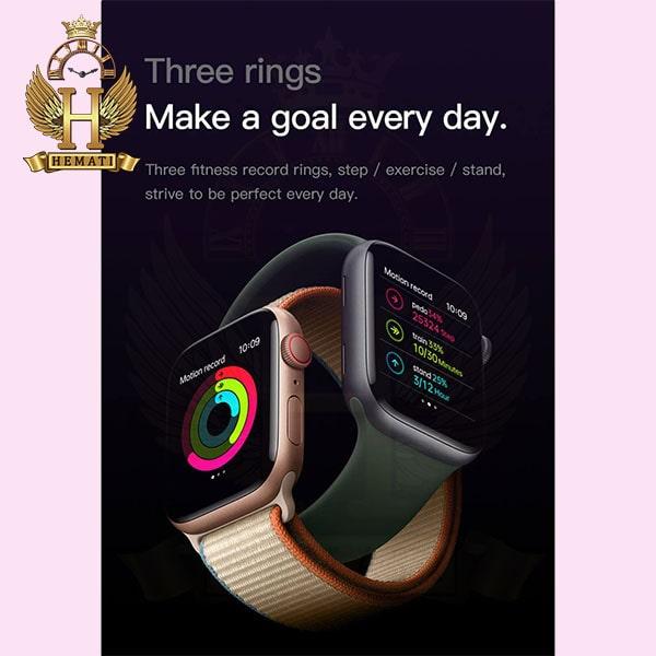 قیمت ساعت هوشمند smart watch H600 کپی سری 6 اپل واچ رنگ مشکی
