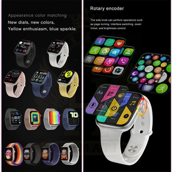 خرید ساعت هوشمند یا اسمارت واچ HT99 رنگ مشکی