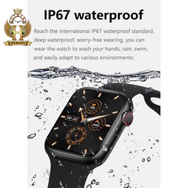خرید ارزان ساعت هوشمند W13 plus پلاس کپی سری 6 اپل واچ به رنگ مشکی