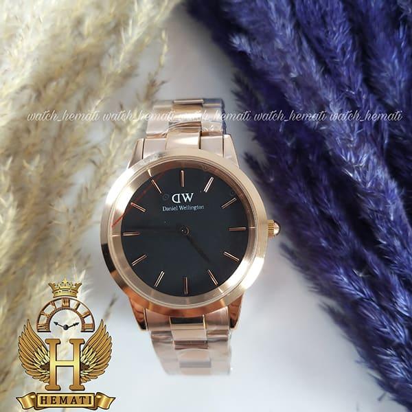 خرید ساعت زنانه دنیل ولینگتون Daniel Wellington DWL21 رزگلد(صفحه-مشکی)