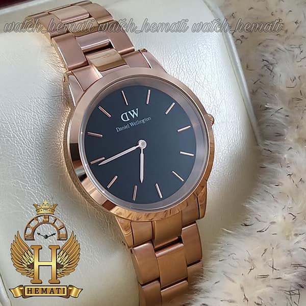 مشخصات ساعت زنانه دنیل ولینگتون Daniel Wellington DWL21 رزگلد(صفحه-مشکی)