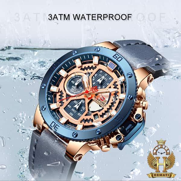 خرید ساعت مردانه نیوی فورس مدل naviforce nf9159m سرمه ای رزگلد