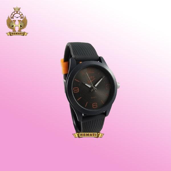 ساعت اسپرت نایک پسرانه و دخترانه NIKE NK104 طوسی_نارنجی
