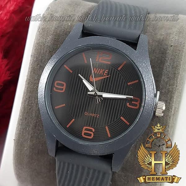 ساعت جدید اسپرت نایک پسرانه و دخترانه NIKE NK104 طوسی_نارنجی