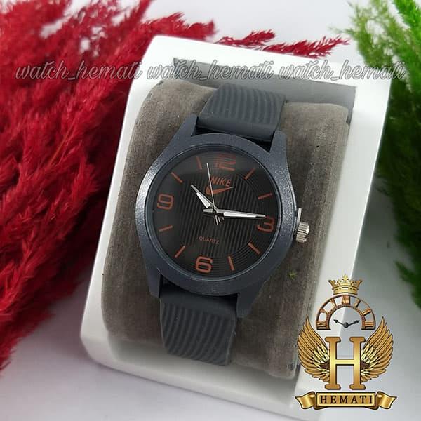 ساعت شیک اسپرت نایک پسرانه و دخترانه NIKE NK104 طوسی_نارنجی