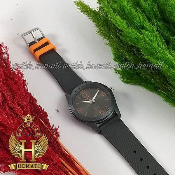 خرید اینترنتی ساعت اسپرت نایک پسرانه و دخترانه NIKE NK104 طوسی_نارنجی