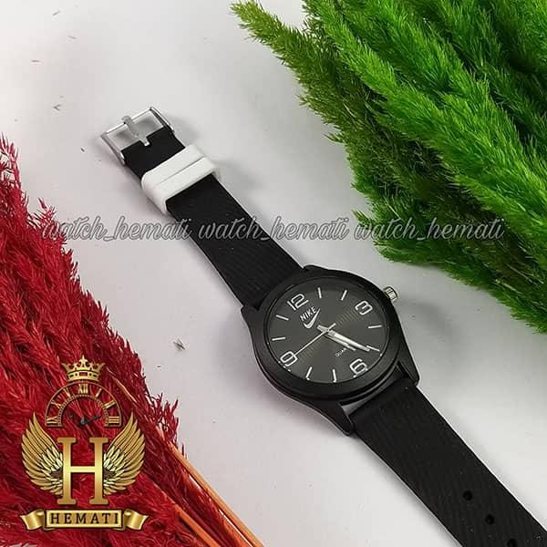 خرید ارزان ساعت اسپرت نایک پسرانه و دخترانه NIKE NK103 مشکی_سفید
