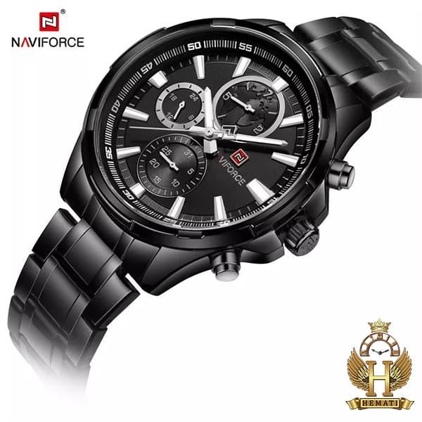خرید ساعت مردانه نیوی فورس مدل naviforce nf99089m مشکی