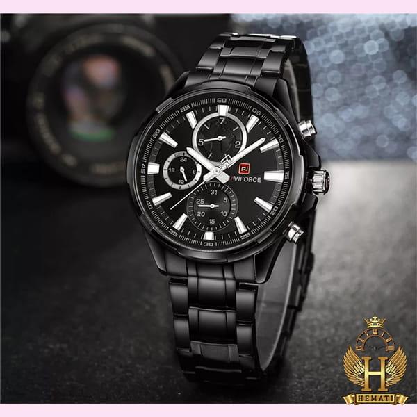 قیمت ساعت مردانه نیوی فورس مدل naviforce nf99089m مشکی