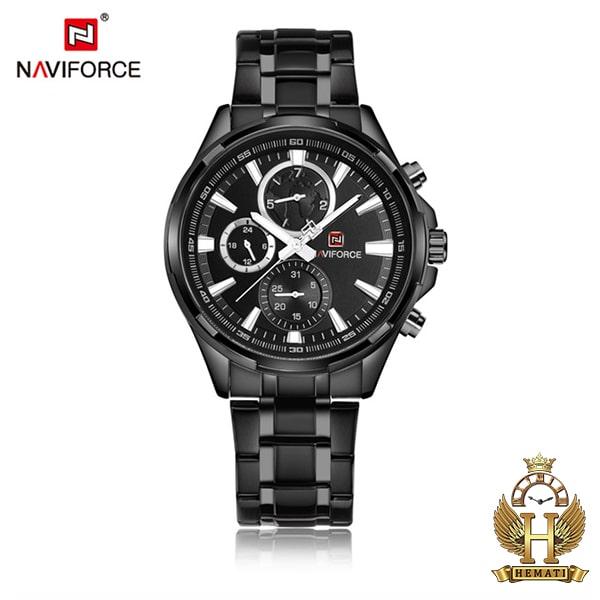 خرید اینترنتی ساعت مردانه نیوی فورس مدل naviforce nf99089m مشکی