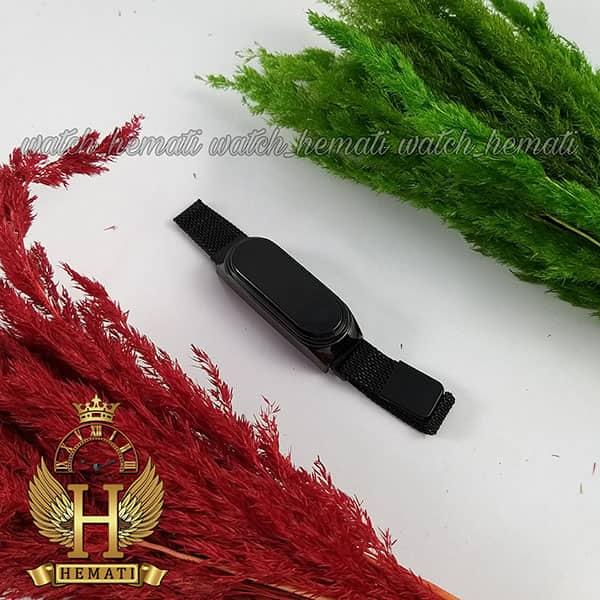 قیمت ساعت ال ای دی طرح شیائومی تاچ و بند مگنتی رنگ مشکی