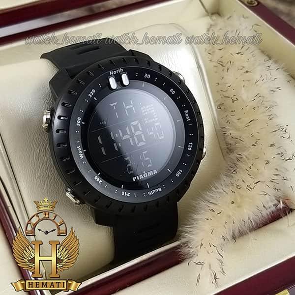 خرید انلاین ساعت مچی دیجیتال مردانه پیائوما piaoma p106 تمام مشکی