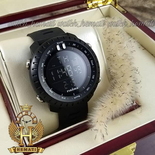 خرید ساعت مچی دیجیتال مردانه پیائوما piaoma p106 تمام مشکی