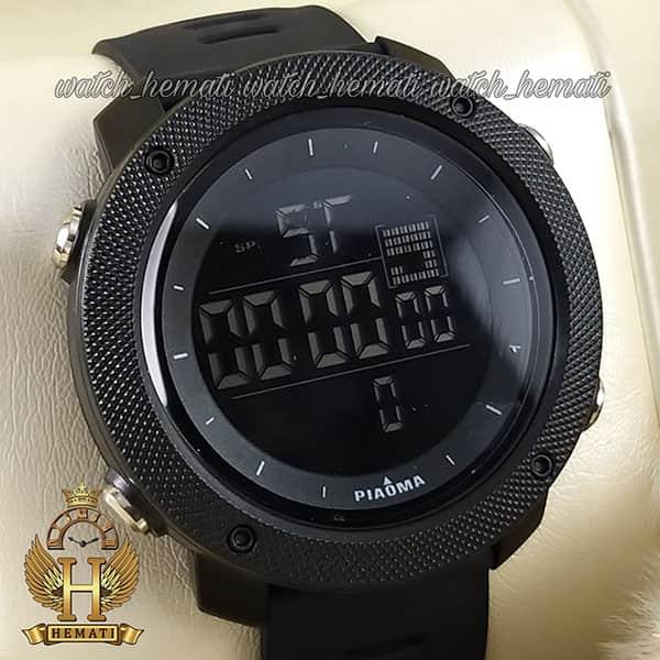 خرید ساعت مچی دیجیتال مردانه پیائوما piaoma p109 تمام مشکی