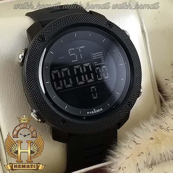 مشخصات ساعت مچی دیجیتال مردانه پیائوما piaoma p109 تمام مشکی