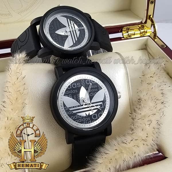 خرید ، قیمت ، مشخصات ساعت ست آدیداس ADIDAS AD234 مشکی نقره ای