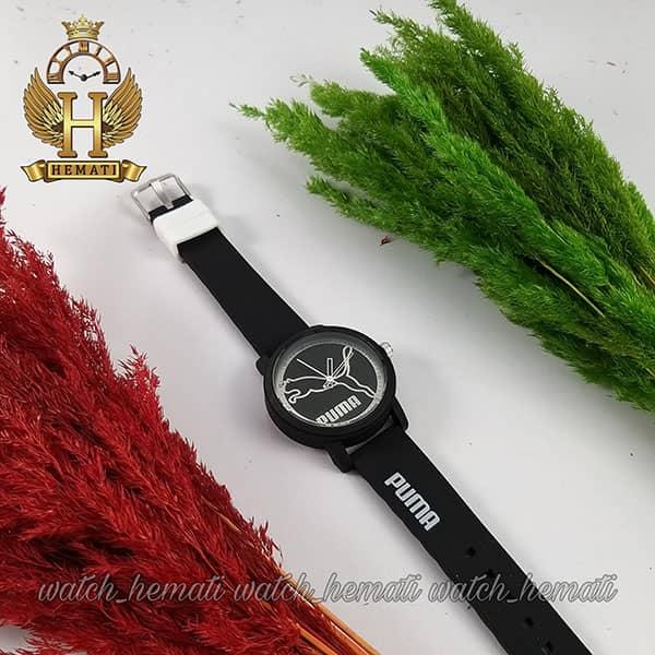 مشخصات ساعت اسپرت پوما PUMA PM205 مشکی_نقره ای