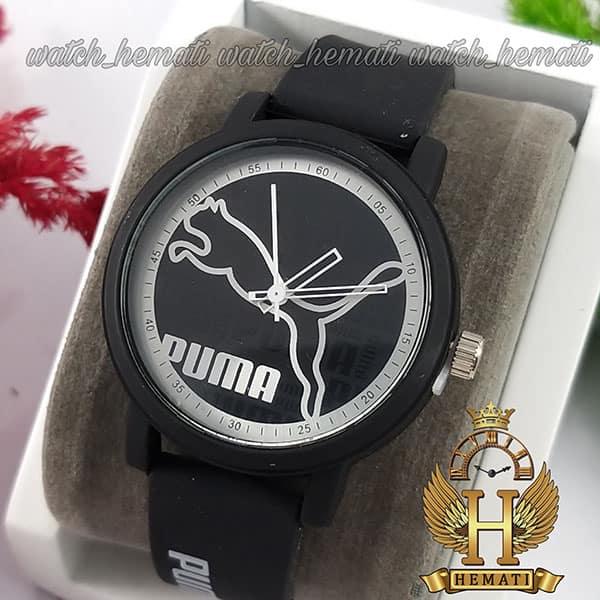 خرید ساعت اسپرت پوما PUMA PM205 مشکی_نقره ای
