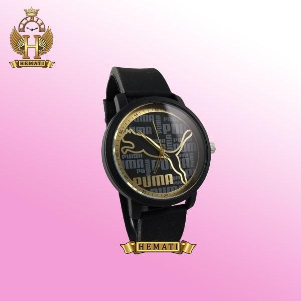 ساعت اسپرت پوما PUMA PM204 مشکی_طلایی قطر 44 میلیمتر