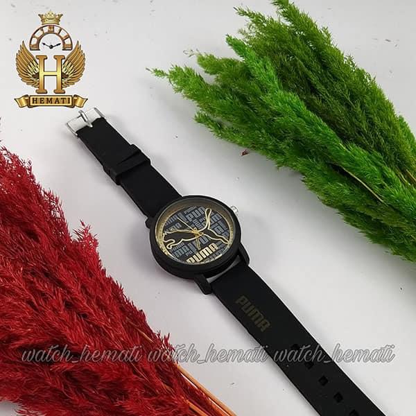 خرید انلاین ساعت اسپرت پوما PUMA PM204 مشکی_طلایی قطر 44 میلیمتر