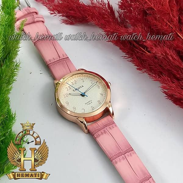 خرید انلاین ساعت فانتزی دخترانه تاکیا بند چرم TAQIA TAQ105