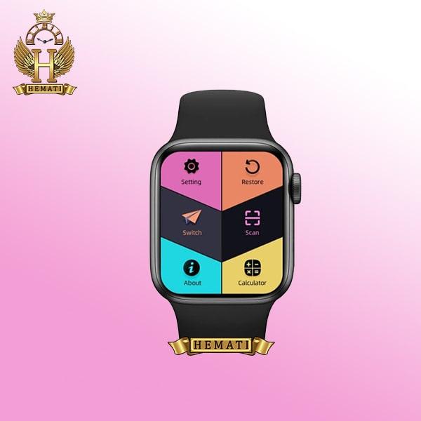 خرید ارزان ساعت هوشمند smart watch ak76 در رنگبندی مشکی ، نقره ای ، سرمه ای