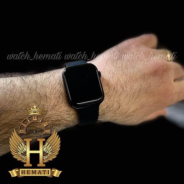 عکس روی دست ساعت هوشمند SMART WATCH FK99 رنگ مشکی با یک بند نایلونی اضافی