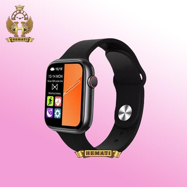 خرید ساعت هوشمند SMART WATCH FK99 رنگ مشکی با یک بند نایلونی اضافی