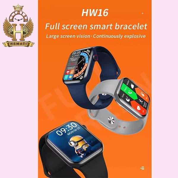 مشخصات ساعت هوشمند Smart Watch HW16 در رنگبندی قرمز ، آبی ، مشکی ، نقره ای