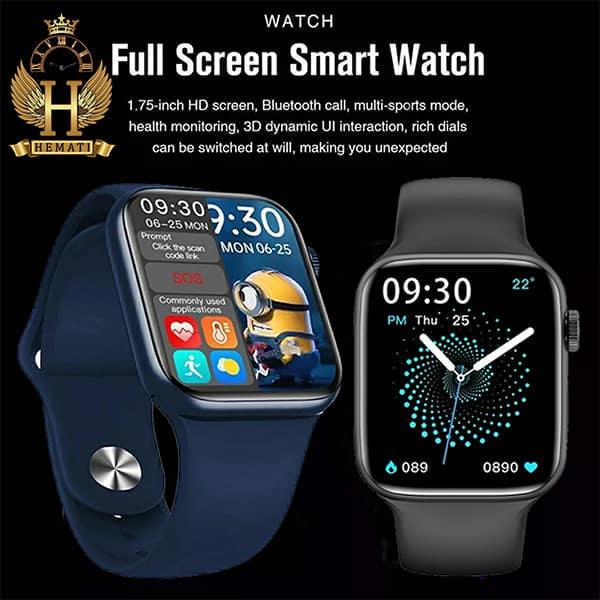 خرید ارزان ساعت هوشمند Smart Watch HW16 در رنگبندی قرمز ، آبی ، مشکی ، نقره ای