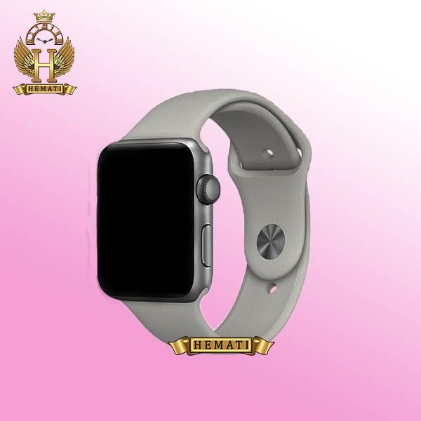 ساعت هوشمند Smart Watch HW16 به رنگ قاب نقره ای با بتد طوسی
