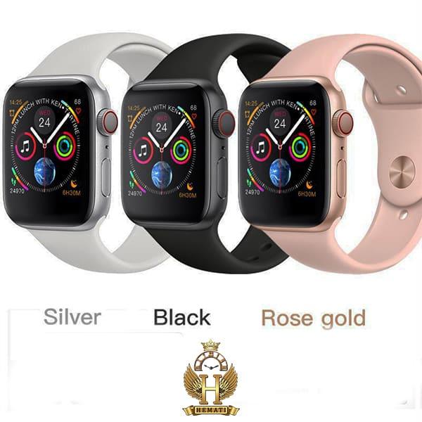 خرید ساعت هوشمند SMART WATCH W46 در رنگبندی نقره ای و مشکی