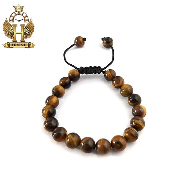 دستبند بافت سنگ تایگر DDD1003